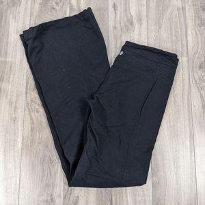Lululemon Wide Leg Yoga Pants Black Size 6 Reversible